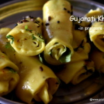 gujarati khandvi in pressure cooker recipe,how to make gujrati khandvi quick