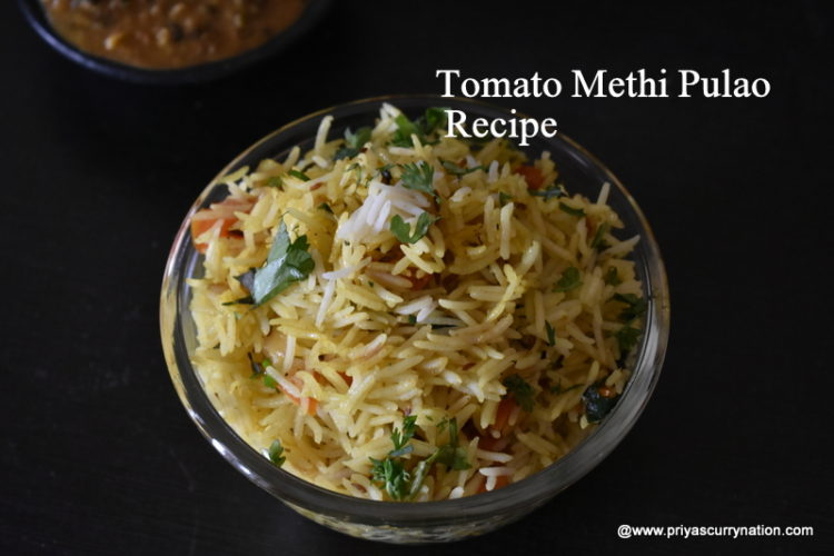 tomato-methi-pulao-recipe