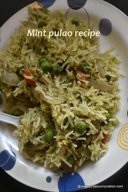 Mint-pulao-recipe