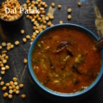 dal palak recipe, how to make palak dal recipe | spinach dal fry recipe