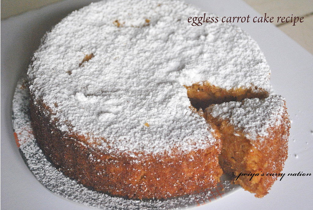 Orange Tea Cake Recipe Eggless