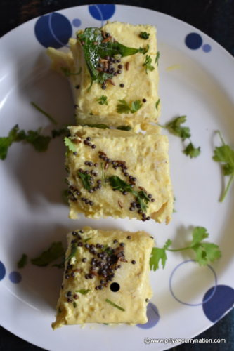 Instant bread dhokla recipe how to make dhokla in 10 mins easy this recipe is the perfect for parties bread dhokla priyascurrynation forumfinder Gallery