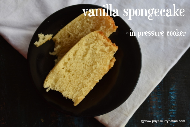 Eggless Vanilla Cake Recipes In Pressure Cooker: How To Make Eggless Vanilla