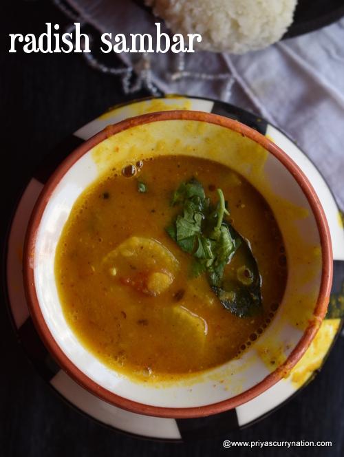 radish-sambar-priyascurrynation