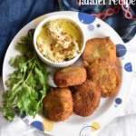 easy falafel recipe | how to make falafel recipe with cooked chickpeas recipe