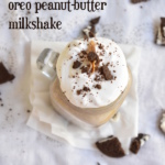 peanut butter oreo milkshake recipe | how to make oreo milkshake
