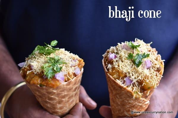 bhaji-cone-recipe-priyascurrynation