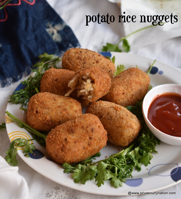 rice nuggets recipe priyascurrynation