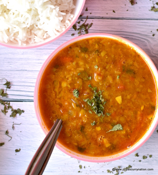 masoor dal recipe