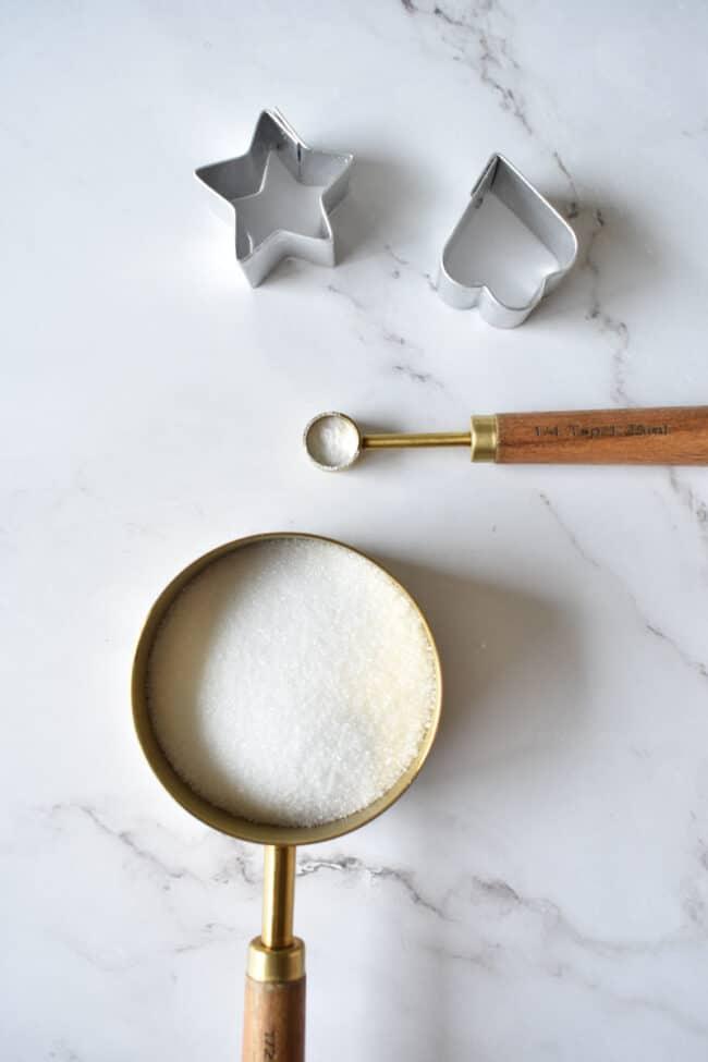 आसान डालगोना कैंडी बनाने के लिए आवश्यक सामग्री.